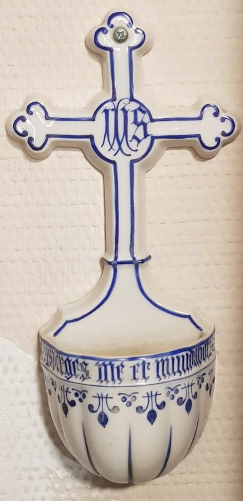 Liturgisch vaatwerk - Wijwatervat