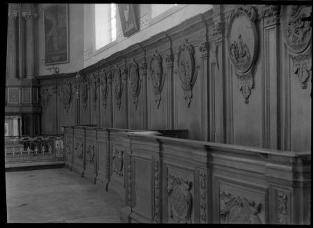 Religieus Meubilair - Muurbetimmering Zuid I