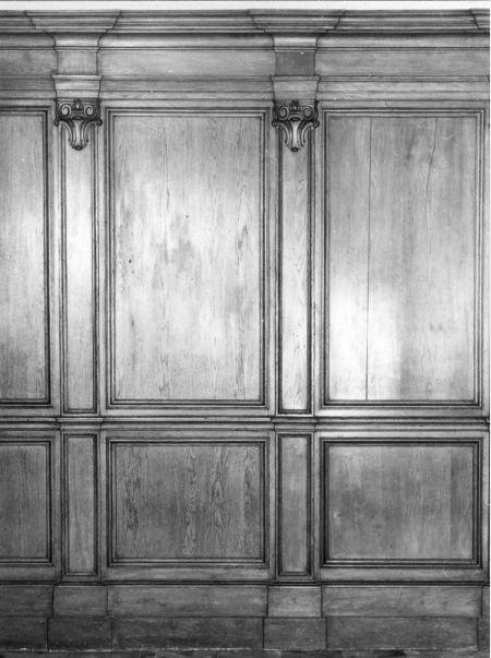 Religieus Meubilair - Wandbetimmering Zuid II