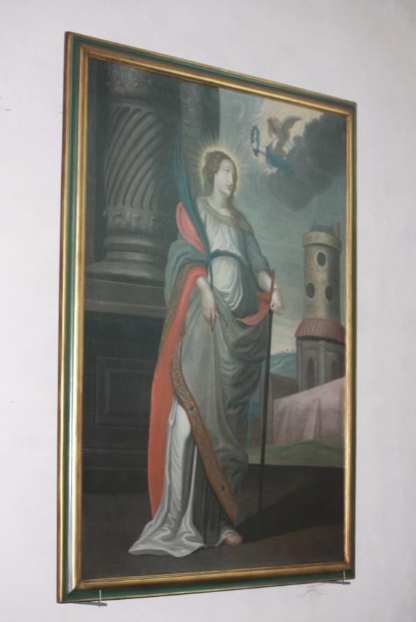 Schilderijen - H. Barbara