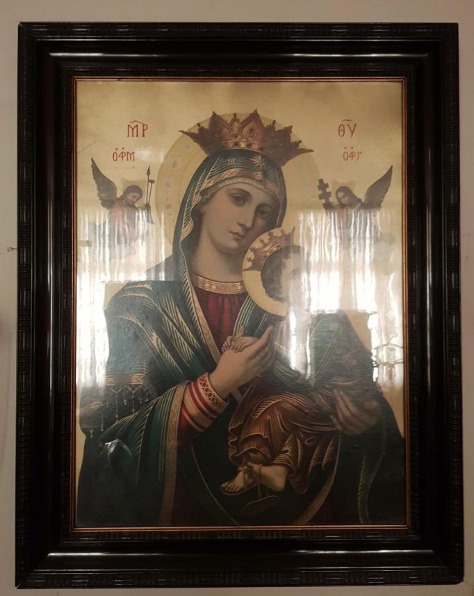 Schilderijen - Prent Maria