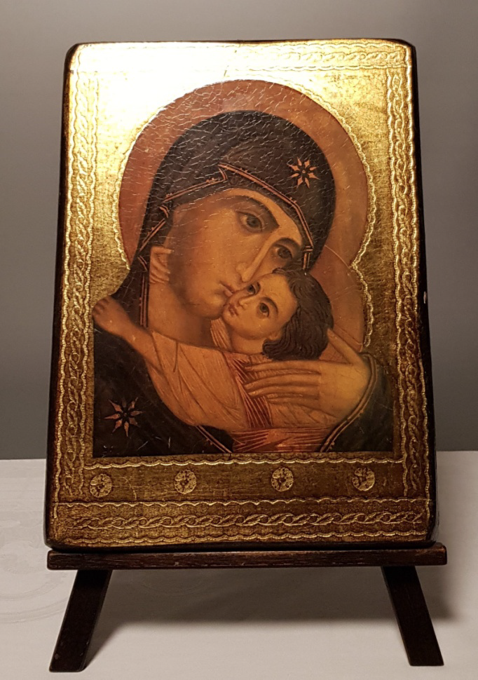 Schilderijen - Icoon-reproductie Maria