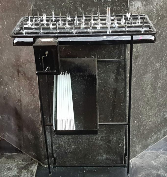 Verlichting - Kaarsentafel
